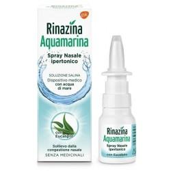 Rinazina Aquamarina Soluzione Nasale Ipertonica Con Eucalipto Spray 20 Ml