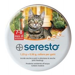 Seresto Collare Anti-pulci per Gatti 1,25g+0,56g