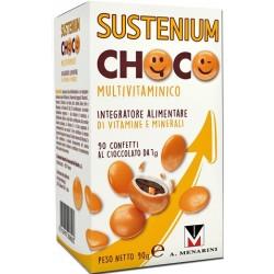 Sustenium Choco Multivitaminico Integratore alimentare 90 confetti da 1 g
