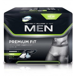 Tena Men Protective Underwear Mutandina Livello 4 Misura M 12 pezzi